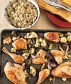 RealSimple Roasted Chicken and Vegetables