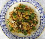 Curry Coconut Chicken, Red Lentils and Bok Choy (Family-Style) Recipe