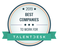 Talentdesk Best Companies to work for 2019 Award